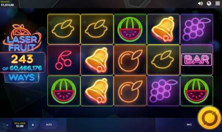 Laser Fruit slot game