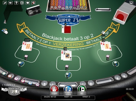 blackjack super 7s voorbeeld van blackjack side bets