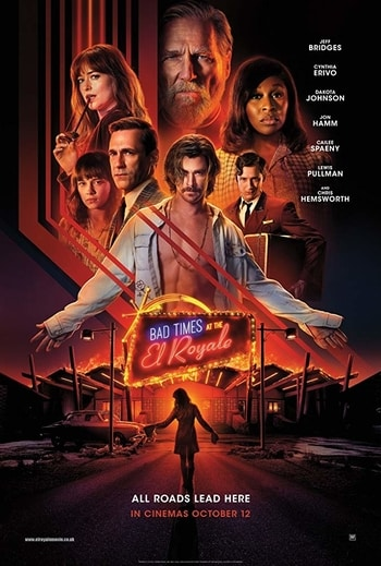 filmposter Bad Times at the El Royale casinofilm